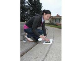 Curb Address Painting Article
